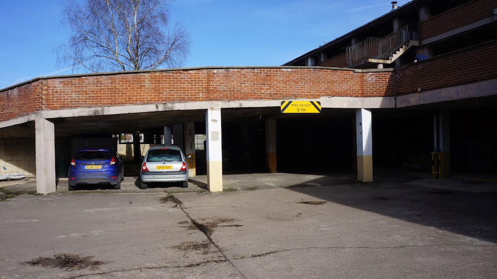 Grovelands car park repair 1
