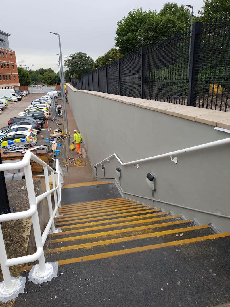 Medway retaining wall repair (2)