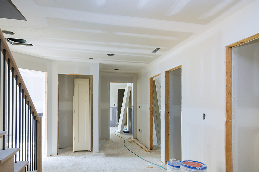 Construction Building Industry New Home Construction Interior Dr
